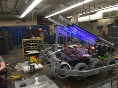 End stages of building the robot